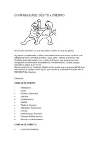 CONTABILIDADE DEBITO E CREDITO