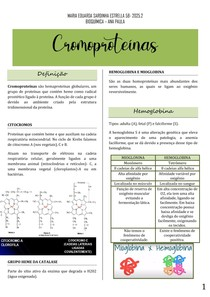 Cromoproteínas