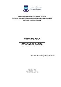 Apostila Estatística Básica