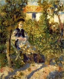 Renoir - Nini in the Garden
