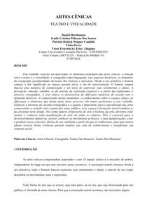 PAPER ARTES CÊNICAS