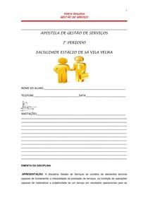APOSTILA DE GESTÃO DE SERVIÇOS