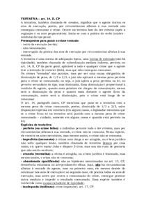 DIREITO PENAL I Resumão parte 2 - Direito Penal I