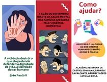 Foolder Ação do enfermeiro diante da saúde mental das famílias vitimas de vioência doméstica