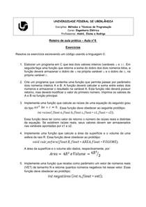 Roteiro de aula prática - aula nº 6