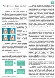 RESUMO MICROIMUNO - ASPECTOS IMUNOLOGICOS DA CARIE