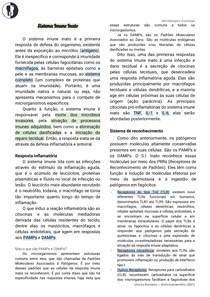 Imunologia - Sistema Imune Inato + Adaptativo