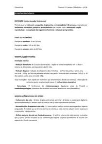 Puerpério Fisiológico - perguntas e respostas