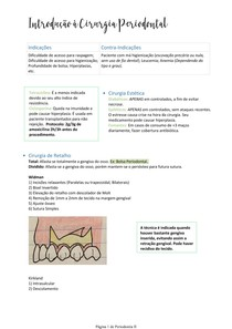 Introdução à Cirurgia Periodontal