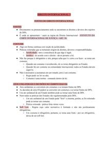 DIREITO INTERNACIONAL 3 - FONTES DO DIREITO