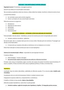 Eixo Hipotálamo-Hipófise-Gônadas - Fisiologia da Reprodução