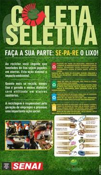 Modelo de banner - COLETA-SELETIVA - ECO CREEPING