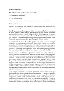 Exclusão da Ilicitude (Art 23 do Código Penal)