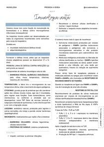 Imunologia - Imunologia inata