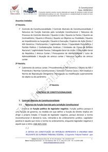 Resumo Direito Constitucional   Aula 05