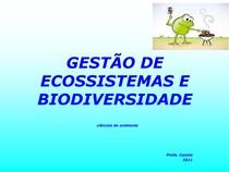 Ciências do Ambiente - Aula 2 - Eco - Cadeia e Teias