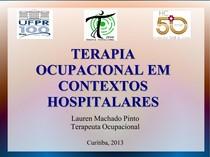 TO em contexto hospitalar - Lauren