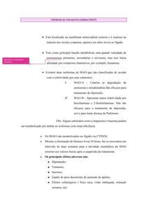 Inibidor da Monoamina Oxidase (IMAO)