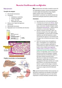 Anemias Geneticamente Modificadas FISIOPATO