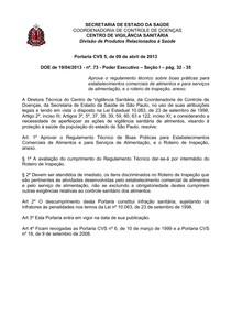 PORTARIA CVS-5
