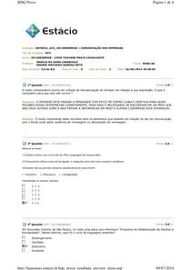 comunicacao nas empresas AV2