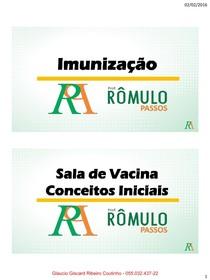 Imunização Sala de Vacina