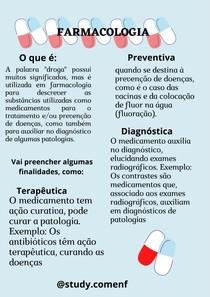 Noções de Farmacologia