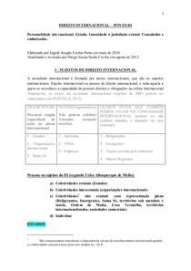 DIREITO INTERNACIONAL – PONTO 04