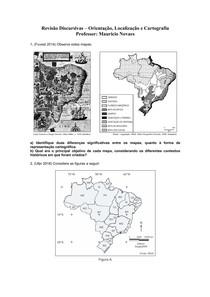 Revisão Discursivas - Cartografia