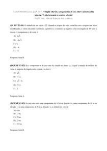 Lista UA 4_Notação vetorial componentes de um vetor e coordenadas polares