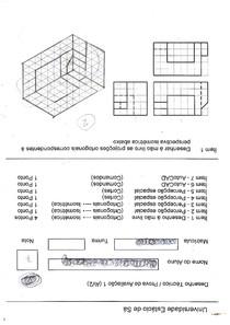 AV2 de Desenho técnico - de outra turma em 2012