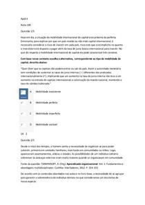 apol 4 Análise Conjuntural e Cenários e Gestão do Conhecimento