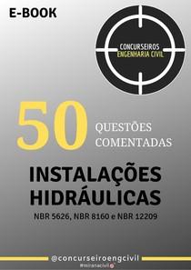 Ebook_Instalações Hidrossanitaria_Concurseiros Engenharia Civil