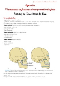 Apostila - Fraturas de Terço Médio da Face (1)