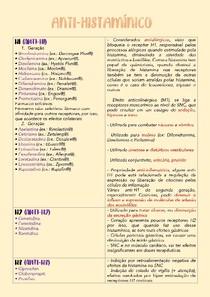 Principais anti-histamínico