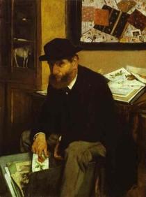 Edgar Degas - The Collector of Prints