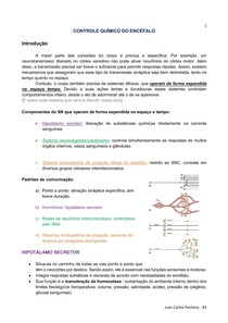 Controle Químico do Encéfalo