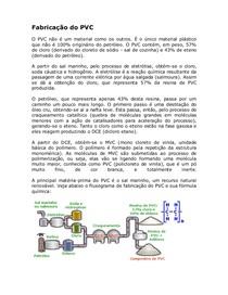 Fabrica-¦ção do PVC