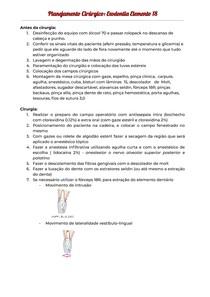 Planejamento Cirúrgico Exodontia Elemento 18