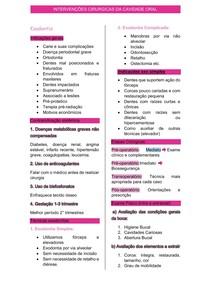 exodontia resumo simples