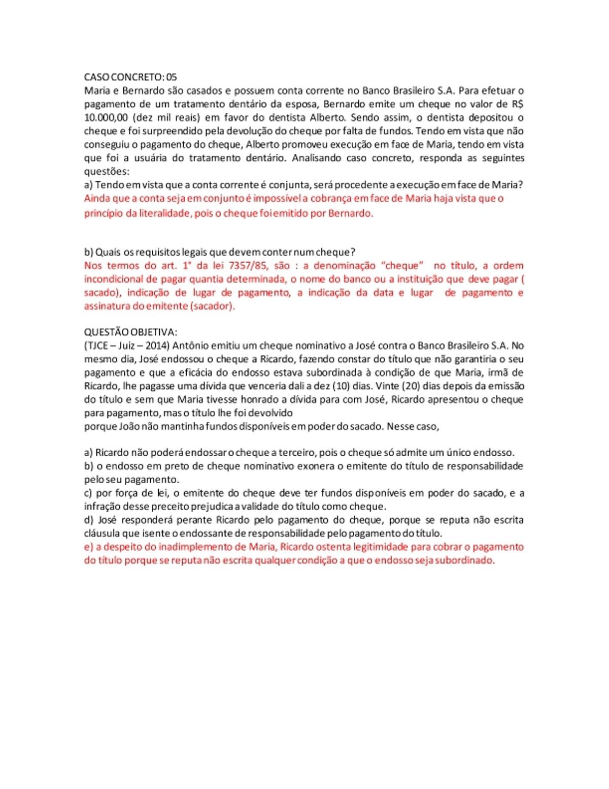 Pre-visualização do material CASO 05 - página 1