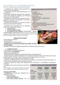 Neoplasias Císticas do Pâncreas