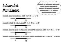 conjuntos numéricos e intervalos reais - 3