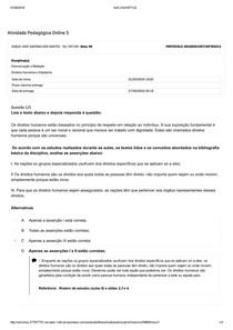 Apol 5 Comunicação E Redação Direitos Humanos E Cidadania Di