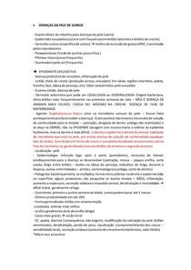 Clínica de Suínos - DOENÇAS DE PELE-ERISIPELA-CIRCOVIROSE