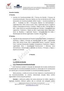 Resumo Direito Constitucional   Aula 07
