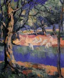 Rio na Floresta-Kasimir Malevich