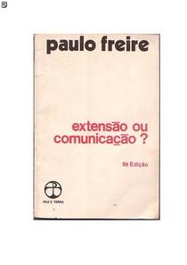 PAULO FREIRE ExtensaoouComunicacao