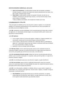 Defeitos do Negocio Jurídico