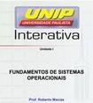 Fundamentos de sistema operacionais  SEI uni I (g)